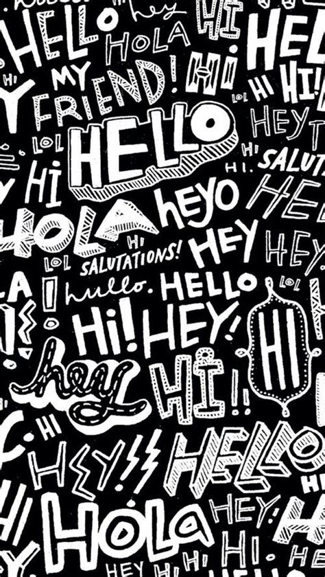Typography Wallpaper Pinterest | typography pattern wallpaper graphics prints pinterest