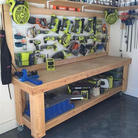 workshop bench ideas best 25 diy workbench ideas on pinterest garage diy organization garage ideas and