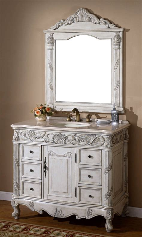 41 Inch Bathroom Vanity 41 Inch Regent Vanity Single Sink Vanity Vanity With Mirror