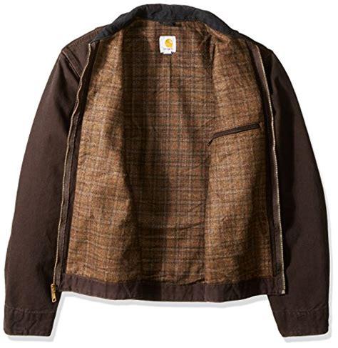 Carhartt Sandstone Detroit Jacket Blanket Lined by Carhartt S Big Blanket Lined Sandstone Detroit