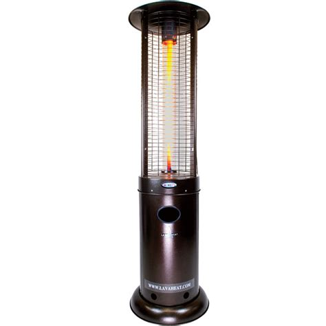 Gas Patio Heater Lowes by Shop 51 000 Btu Heritage Bronze Steel Liquid Propane Patio