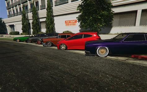 tuner cars gta 5 low suspension for some cars real lowriders and tuners