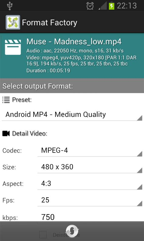 format factory java app download android format factory converts audio and video files