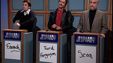celebrity jeopardy snl french stewart watch celebrity jeopardy french stewart burt reynolds
