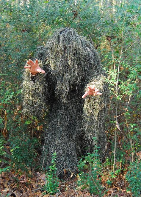 How To Pull Up Blinds Kids 4 Piece Light Weight Ghillie Suit