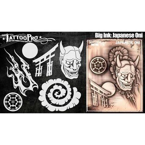 tattoo pro stencil big ink oni atps bgnk  hokey