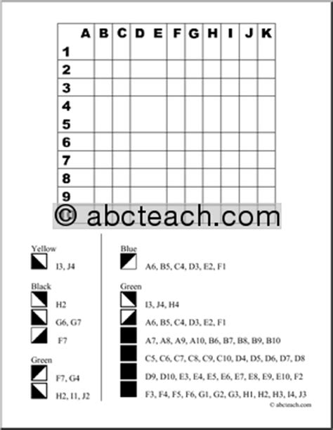 mystery picture coloring grid mystery grid drawing worksheets sketch coloring page