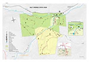 Salt Fork State Park Map by Salt Springs Related Keywords Amp Suggestions Salt Springs