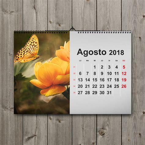 Calendarios De Calendarios De Pared 2018