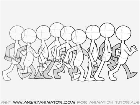 tutorial walking walk cycle animation tutorials download foto gambar