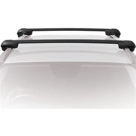 2010 Ford Flex Roof Rack by Inno Ford Flex With Raised Rails 2009 2010 2011 2012