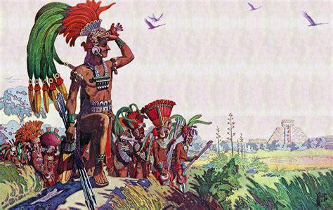 imágenes guerreros mayas antiguos mayas ilustraciones de herbert m herget