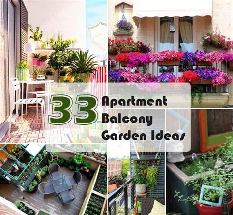 Apartment Garden Ideas 33 Apartment Balcony Garden Ideas That You Will Gardenoid