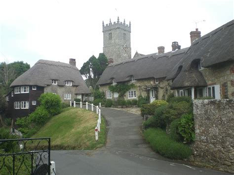 Cottages On The Isle Of by Godshill