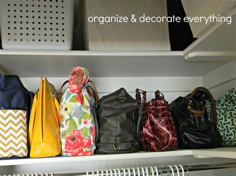 how to organize purses in the closet organizing and storing handbags organize and decorate