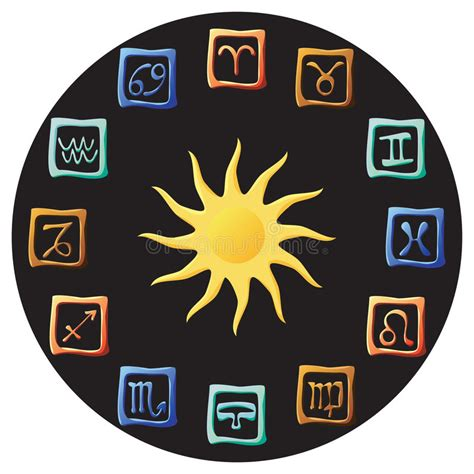 astrology stock illustration illustration  zodiac