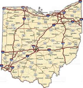 Ohio Interstate Map by Gallery For Gt Ohio Road Map