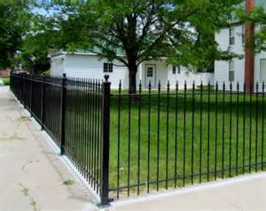 wrought iron fence swimming pool fences and gates black