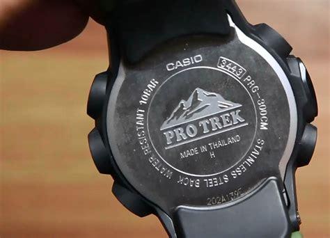 Jam Tangan Casio Original Protrek Prg 300cm 3 casio pro trek prg 300cm 3 indowatch co id