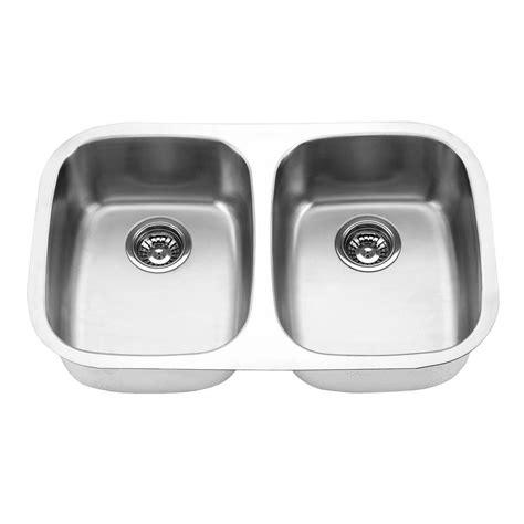 Decorative Kitchen Sinks Yosemite Home Decor Undermount Stainless Steel 29 In Basin Kitchen Sink In Satin Mag505