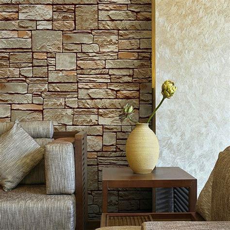 Tendance Papier Peint Pour Salon Et Chambre Papier Peint Imitation Mur De Brique