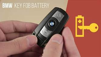 bmw key fob battery replacement comfort access