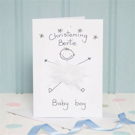 17 best ideas about christening card on
