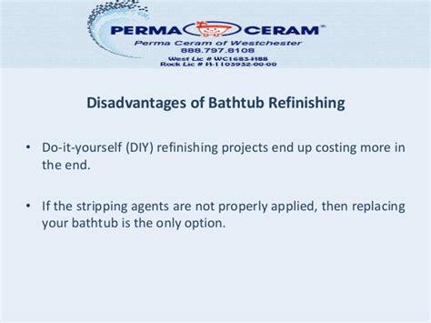 bathtub refinishing jobs bathtub refinishing not a diy job