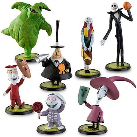 nightmare before christmas bath toys