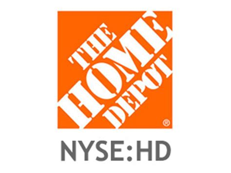 home depot stock hd quote price history now checker