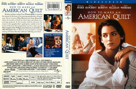 How To Build An American Quilt by How To Make An American Quilt Dvd Scanned Covers
