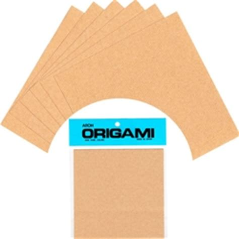 Solid Color Origami Paper - solid color origami paper brown 6 quot