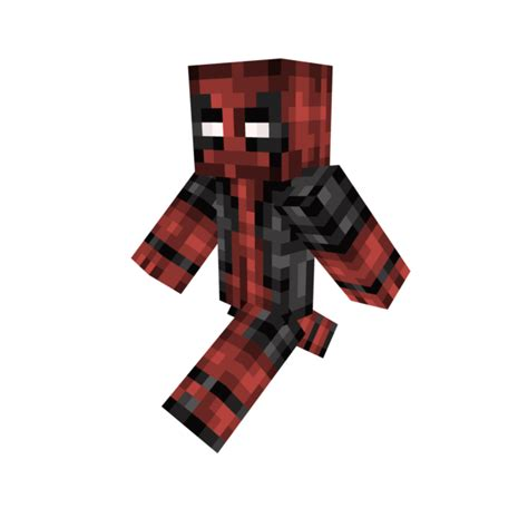Minecraft Papercraft Deadpool - gjt89cr png