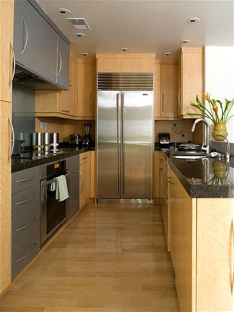 corridor kitchen design ideas schmale k 252 chen interieurs 16 praktische vorschl 228 ge