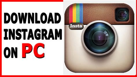 How to Download/Install Instagram on PC/Laptop Windows 7,8 ...
