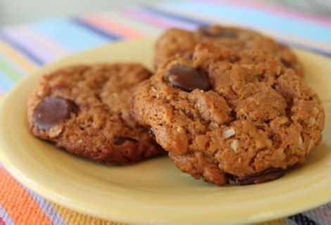 Almond Chocochip Cookies 1 recipe paleo almond butter chocolate chip cookies priscilla freed entrepreneur fitness
