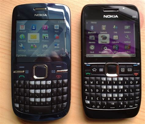 themes nokia e63 eseries nokia e63 meets its series 40 rival the new c3