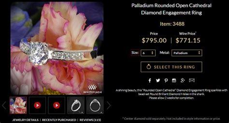 palladium vs platinum vs white gold what are the