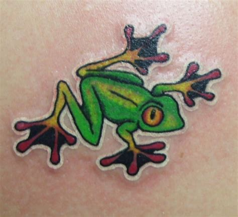 red eye tattoo awesome frog images part 2 tattooimages biz