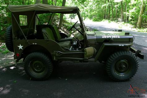 m38 jeep 1952 willys jeep m38 military jeep restored classic