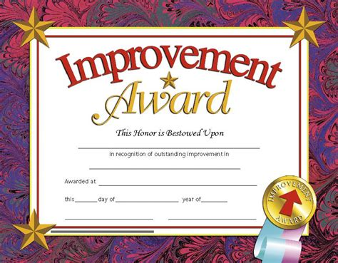 certificates improvement 30 pk award 8 5 x 11 inkjet laser