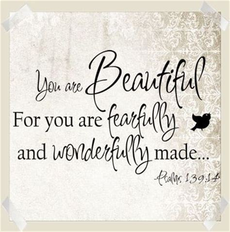 fearfully and wonderfully made my journey to self worth books you are beautiful fearfully wonderfully made wall decal