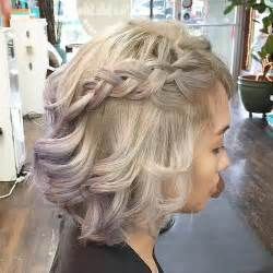 bob haircut with plait braids for short hair 20 newest ideas