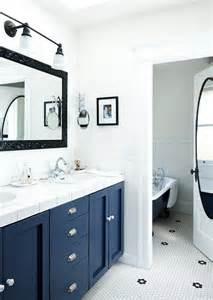 Navy Blue Bathroom Ideas by 37 Navy Blue Bathroom Floor Tiles Ideas And Pictures