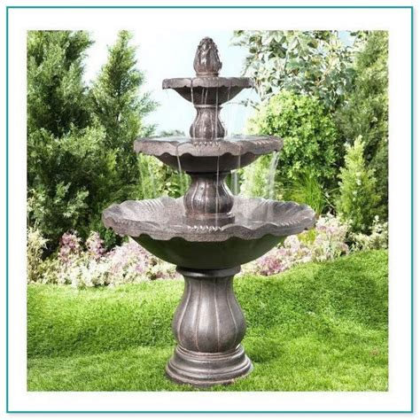backyard fountains lowes soda stream fountain jet