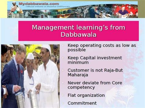 Tiffin Mba Cost by Mba Dabba Wala Ppt New Copy