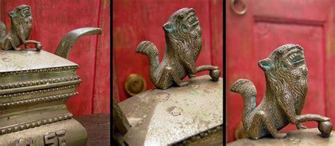 Dupa Kaki Hijau 1 patina antik tempat abu dupa qilin
