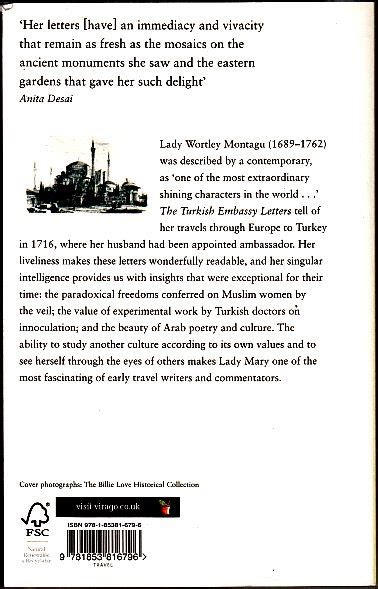 Embassy Letters Montagu the turkish embassy letters by wortley montagu