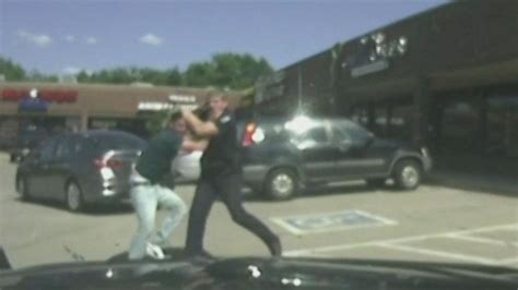 Officer Attacked by Dashcam Footage Shows Heroic Bystander Helping