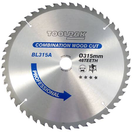 315mm X 30mm X 48t Tct Table Saw Blade